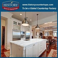 man made stone countertops hot calacatta white quartz kitchen tops