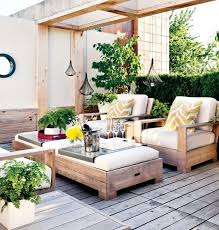 cool outdoor furniture ideas. Contemporary Furniture Terrace Design Ideas Outdoor Furniture Wood Floor Plants In Cool Outdoor Furniture Ideas
