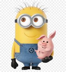 minions deable me minion rush balthazar bratt felonious gru kevin the minion minion with piggy transpa cartoon png image
