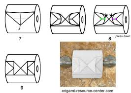 Toilet Paper Origami Flower Instructions Toilet Paper Origami Butterfly
