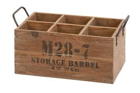 Benzara 51662 Wood Wine Crate Storage Barrel, 16 Inch X 8 Inch X 9 Inch At  Wildorchidquilts.Net