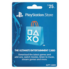 sony playstation 4 gift card 25