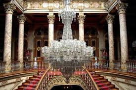renowned manufacturer of fine crystal glassware baccarat celebrates its 250th anniversary with the largest chandelier