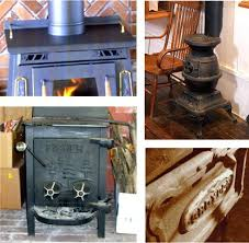 many stoves have solid non glass doors or vents on the front wood stove burner door