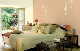 bedroom wall paint stencils brown