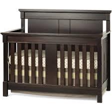 Child Craft Abbott 4 in 1 Convertible Crib Walnut Walmart