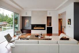 contemporary furniture ideas. Living Room Contemporary Furniture Ideas Moden Design Round Walnut Coffee Table Enchanting Electric Fireplace Insert Wall I