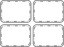 Printable Flash Card Template Free Flashcards Templates