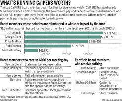 Chart How Much Are Calpers Board Members Paid Pension360