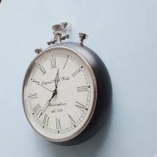 coca digital antique round wall clock