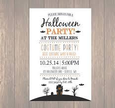 Free Halloween Birthday Invitation Templates Free Printable Birthday Invitation Templates Fill In