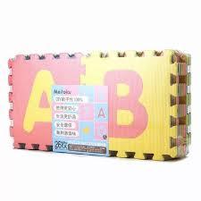 26pcs baby kids playmat alphabet puzzle abc playmat 26 tiles