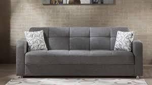 vision go gray convertible sofa bed