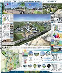 Дипломный проект page Архитектура и проектирование  Кампус спортивной академии в Саранске