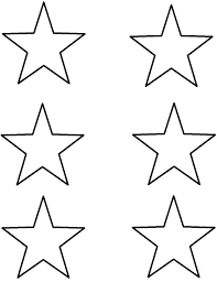 Template For A Star Shooting Star Outline Printable Large X Template Coupons For Kohls