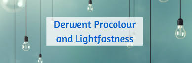 Derwent Procolour Lightfast Chart Reviews Podcast Sharpened Artist