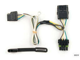 gmc jimmy trailer wiring kits com gmc jimmy trailer wiring kit 1992 1994 by curt mfg 55319