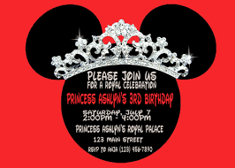 mickey mouse birthday invitation template mickey mouse clubhouse birthday invitation template