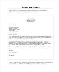 Should I Send A Thank You Letter After An Interview Uk
