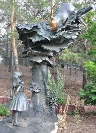 alice in wonderland garden statue alice in wonderland garden statue set