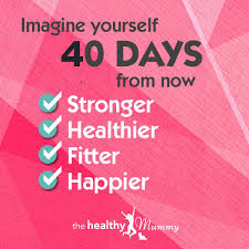 Countdown To Summer 40 Days To Go The Healthy Mummy