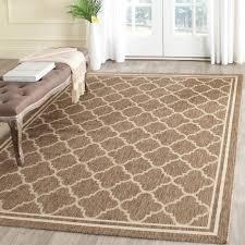 safavieh courtyard indoor outdoor area rug best of safavieh poolside brown bone indoor outdoor