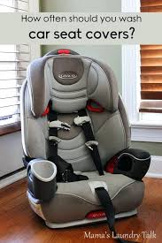 washing car seat covers how often should i wash mama s laundry talk