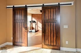 home gym barn door hardware traditional home gym