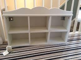 ikea childrens hensvik white wall mounted shelving unit