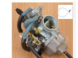 carburet honda trx 250 trx250 recon carburetor 1997 2001 w carburet honda trx 250 trx250 recon carburetor 1997 2001 w throttle cable 46 034