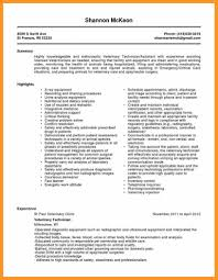 Ophthalmic Technician Resume Sample Bio Letter Format