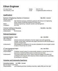 Fresher Engineering Lecturer Resume Template