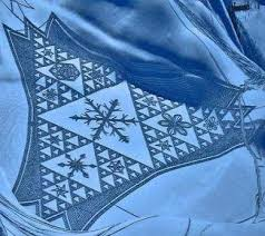 11 best Snow Quilts images on Pinterest | Centerpieces, Circles ... & L'art de la neige... par Simon Beck Adamdwight.com