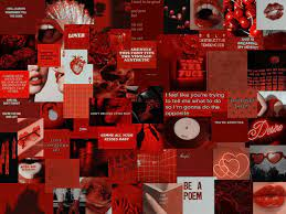 Red Aesthetic Wallpapers - Top Free Red ...