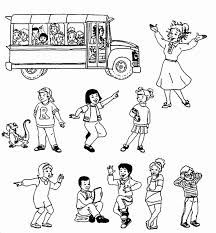 Alphabet coloring activity pages from a to z. The Magic School Bus Coloring Pages