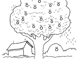 Free Apple Tree Coloring Pages Apple Pictures To Color Apple