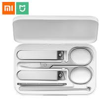 <b>Xiaomi Mijia 5PCS</b>/Set <b>Stainless</b> Steel Nail Clipper Beauty Scissors ...