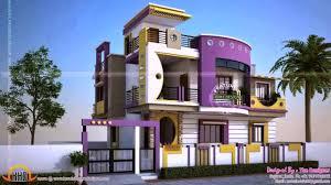 Home Outside Color Design Ideas Row House Exterior Design Ideas See Description