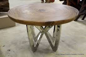 Wood And Metal Round Dining Table Steel Metal 28 Quot Tall Dining Table Legs Desk 51000 Metal Legs