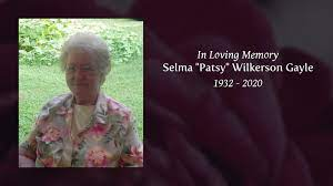 "Selma ""Patsy"" Wilkerson Gayle - Tribute Video"