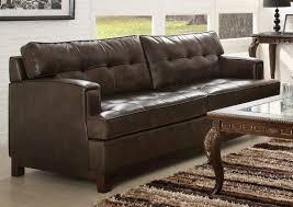 Homelegance Hodley All Bonded Leather Sofa Set Brown U - All leather sofa sets
