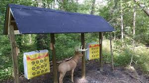 how to turn your backyard into an archery range