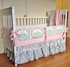 crib bedding baby girl bedding set pink