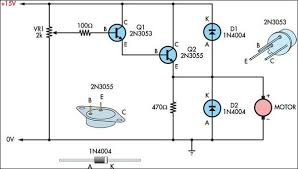 two basic motor speed controllers circuit diagram two basic motor speed controllers circuit schematic
