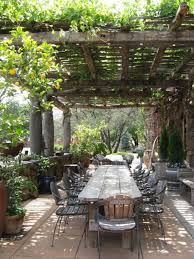 Terrace and Garden: Grape Arbor Backyard Furniture - Grape Arbor Garden