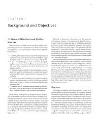 Chapter 1 Background And Objectives Economic Impact Case Study