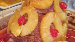 cooked ham with pineapple. Unique Pineapple Photo Of Baked Ham With Pineapple Mustard Glaze By Risa Buckingham In Cooked With