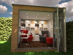 back garden office.  Office Bifold Doors Are Popular On Garden Offices As You Can Fold Back A Whole On Back Garden Office S