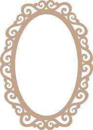 mirror frame drawing. Moldura Para Espelho Estillo Provençal Mdf 3mm 60x40 - R$ 47,70 Mirror Frame Drawing R