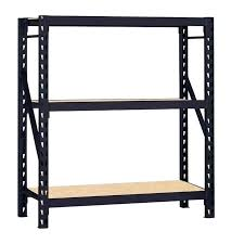 hdx plastic ventilated storage shelving unit 4 shelf in d x w h black plastic shelving instructions ventilated storage
